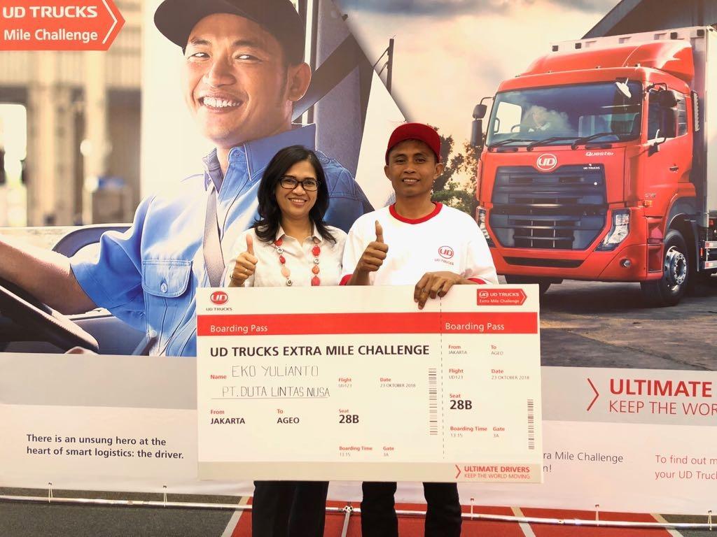 Indonesia Winner UD Extra Mile Challenge 2018